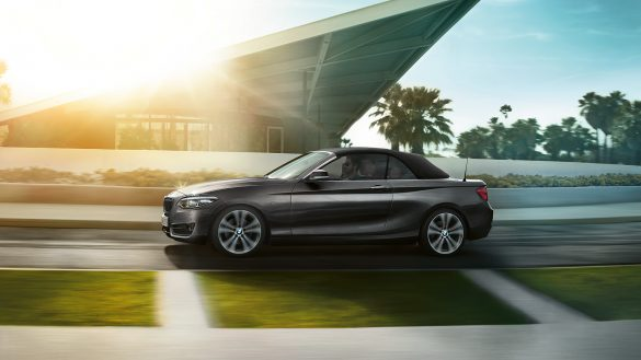 BMW 2er Cabrio von links