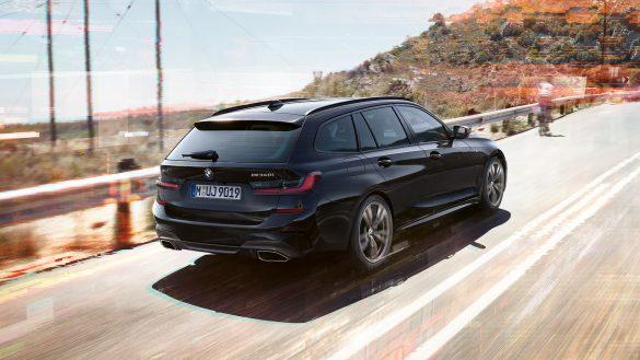BMW 3er Touring M Heck von rechts