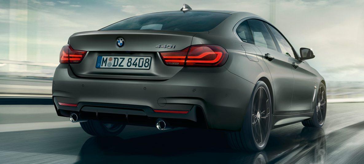 BMW 4er Gran Coupé, Seitschuss