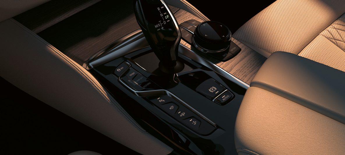 Bedienelemente BMW 6er Gran Turismo 640i xDrive G32 2020 Interieur