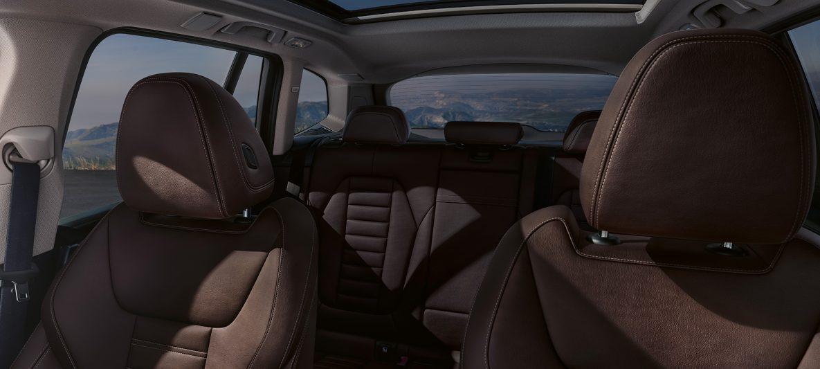 Sportsitze in Leder 'Vernasca' Mokka BMW iX3 G08 2020 Innenraum