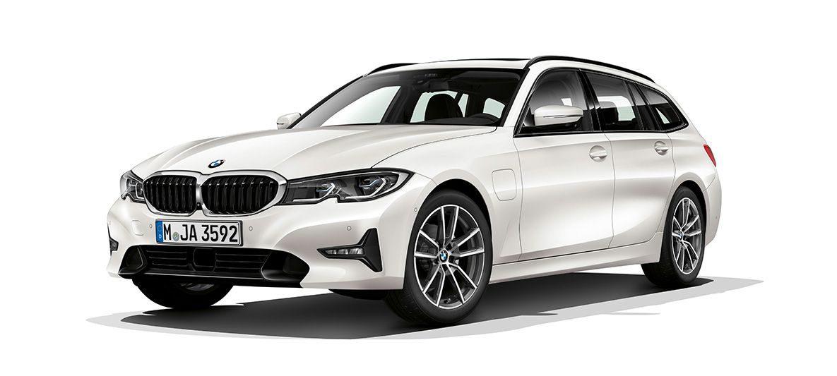 BMW 3er Touring als Plug-In Hybrid