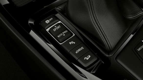 BMW X1 xDrive25e eDrive Modi