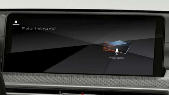BMW X4 M Automobile F98 G02 LCI 2021 Facelift Intelligent Personal Assistant