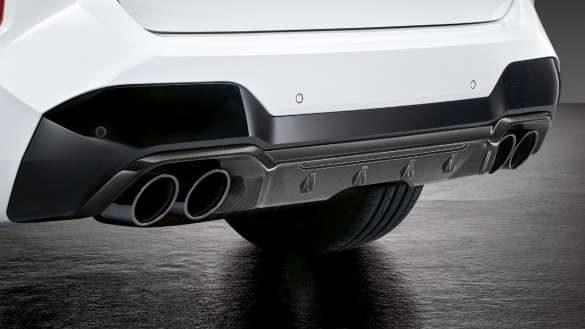 M Heckdiffusor Carbon BMW X3 M Competition F97 LCI Facelift 2021